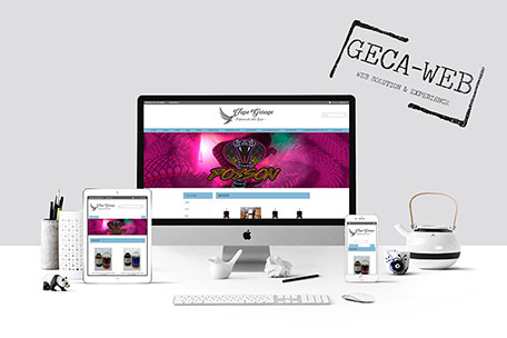 Vape Garage - sito E-commerce